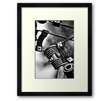 Abstract Web Framed Print