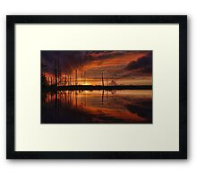 Listening to the Silence Framed Print