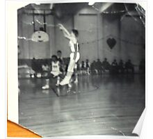jump shot in '68......when shorts were short and we shot straight.... Poster
