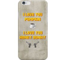 Pulp Fiction inspired valentine (1/2) iPhone Case/Skin