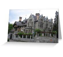 Zurich mansion Greeting Card
