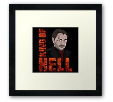 King of Hell Crowley Framed Print