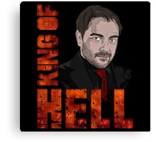 King of Hell Crowley Canvas Print