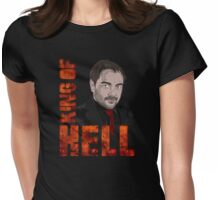 King of Hell Crowley Womens Fitted T-Shirt