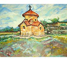 Karmravor Church VII Century Armenia  Photographic Print