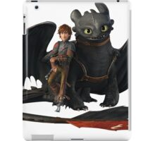 hi cup and toothless iPad Case/Skin