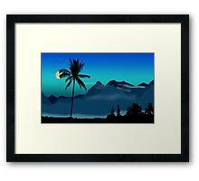 195 Framed Print