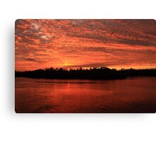 Earth, Water, Air and Fire Canvas Print