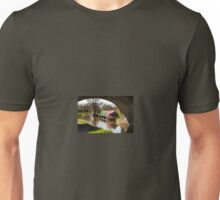 Canal Barge's and Pen Y Fan Unisex T-Shirt
