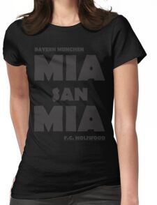 Mia San Mia Womens Fitted T-Shirt
