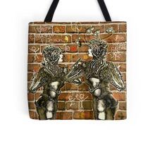 Graffiti Hearts [Digital Figure Illustration] Message on the Mortar Version 2 Tote Bag