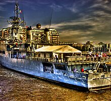 Boston Navy Yard by LudaNayvelt