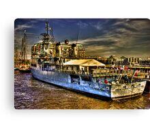 Boston Navy Yard Canvas Print