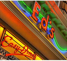 Ed's Easy Diner Photographic Print