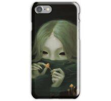 swamp girl lurking iPhone Case/Skin