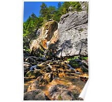 Boulders and rocks Poster