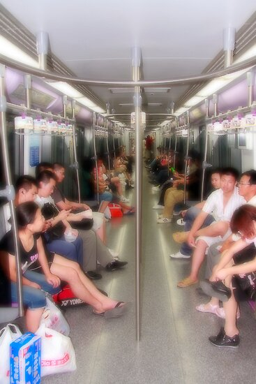 In the metro by zumi