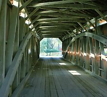 Inside the Bridge in Lancaster County, Pennsylvania by Susan Russell