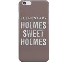 Elementary - Holmes Sweet Holmes iPhone Case/Skin