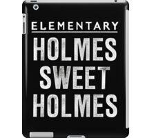 Elementary - Holmes Sweet Holmes iPad Case/Skin