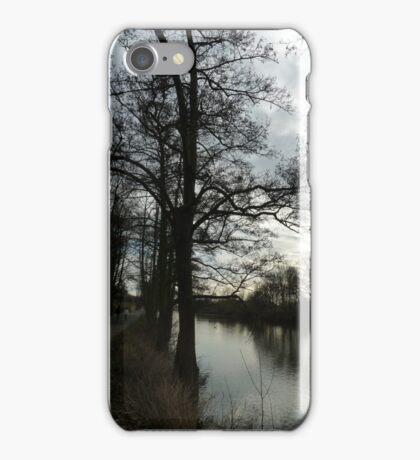 River Severn at Worcester iPhone Case/Skin