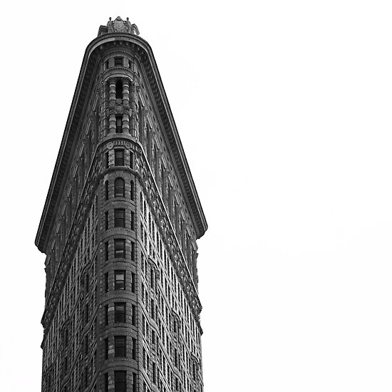 The Flatiron Building by Gerald Holubowicz