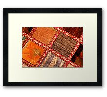 Cushion Framed Print