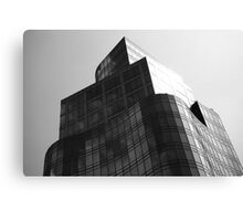 Black and White Architectural view of Astor Place  Canvas Print