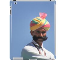 With great mustache comes great responsibility iPad Case/Skin