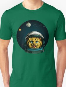 Space Kitty Astronaut Cat  Unisex T-Shirt