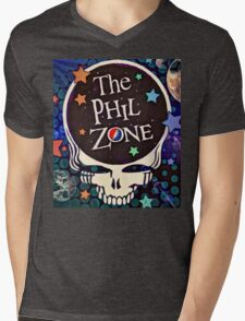 Phil Zone Mens V-Neck T-Shirt