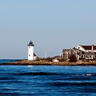 Annisquam Lighthouse by Monica M. Scanlan