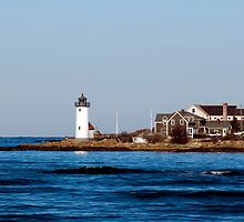 Annisquam Lighthouse by Monica M. Scanlan
