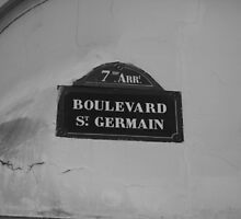 Boulevarde St. Germain by Fiona Allan Photography