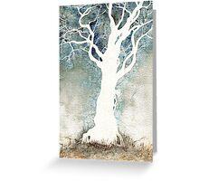 White Tree – Colour Manipulation Greeting Card