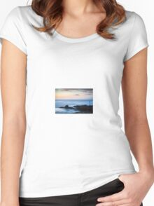 The Soothing Sea Women's Fitted Scoop T-Shirt