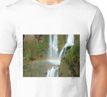 After the rains the rainbow  Unisex T-Shirt