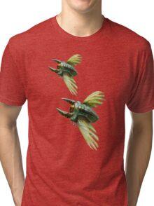 Flying Bugs  Tri-blend T-Shirt