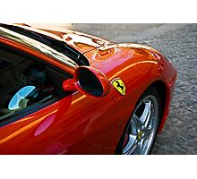 Ferrari 360 F1 Spider Photographic Print