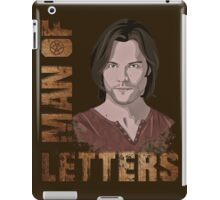 Man of Letters Sam Winchester iPad Case/Skin