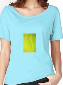 Leaf Patterns Women's Relaxed Fit T-Shirt