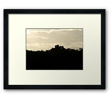 THE CROWN Framed Print
