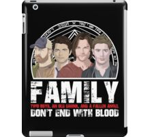 Family Don't End With Blood iPad Case/Skin