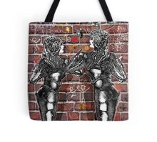 Graffiti Hearts [Digital Figure Illustration] Message on the Mortar Version 1 Tote Bag