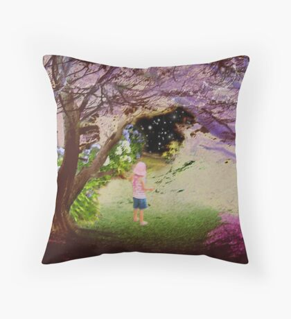Road to the Universe Throw Pillow
