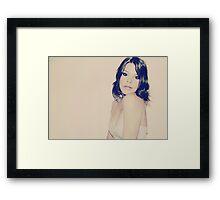 Strawberry Sundae Framed Print