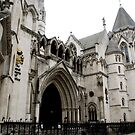 Royal Courts of Justice Building, Fleet Street, London by BronReid