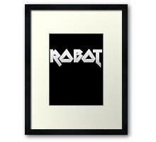 ROBOT by Chillee Wilson Framed Print