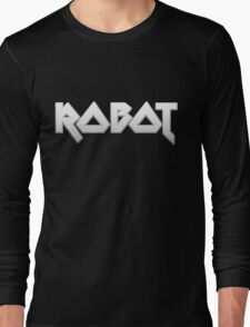 ROBOT by Chillee Wilson Long Sleeve T-Shirt