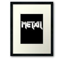 METAL Framed Print